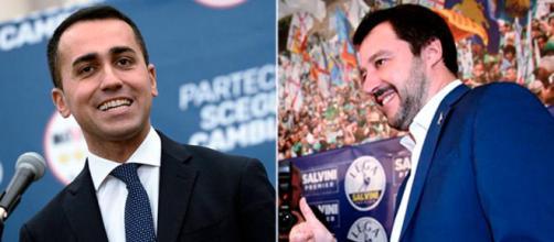 Luigi Di Maio (M5S) e Matteo Salvini (Lega)