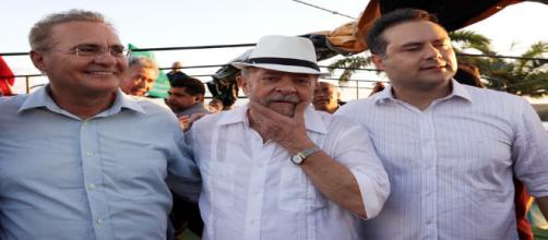 Lula quer apoio federal de Renan Calheiros