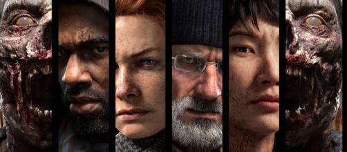 nuevo juego de The Walking Dead presenta sus personajes principales.