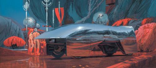 Syd Mead el visionario futurista de star trek y tron