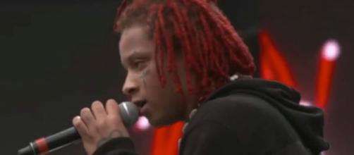 Trippie Redd recently warned 6ix9ine as part of their ongoing beef. [Image via Trap Hub/YouTube]