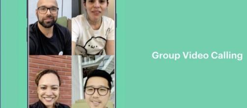 Whatsapp: arrivano le videochiamate di gruppo