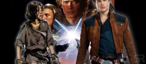 El plan inicial requería que Han apareciera en Sith.