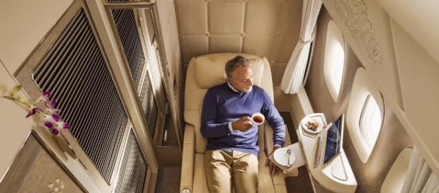 Emirates First-Class der neusten Generation