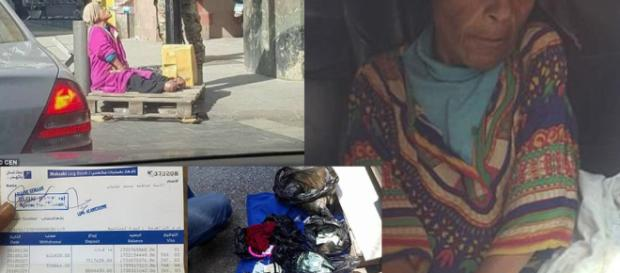 Fatima Othman, la mendicante ricca