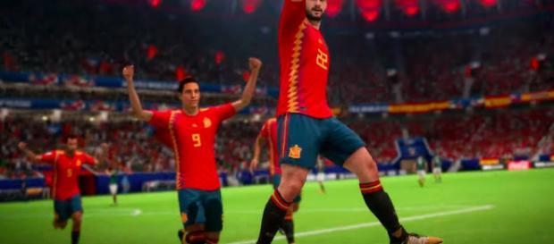 FIFA 18', actualización de escaneo facial para la copa del mundo.