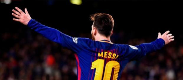 Leo Messi terminou mais uma época com o Barça