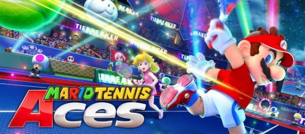 Mario Tenis ACES una gran titulo en el mundo de este gran personaje.