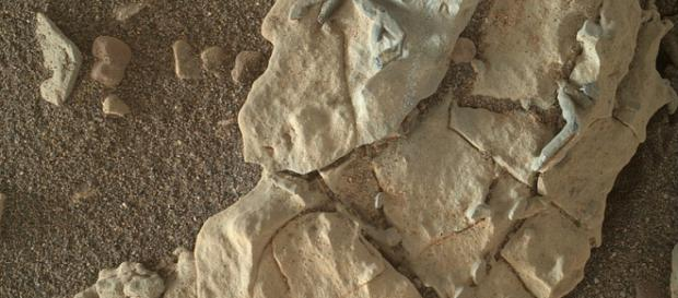 Mars Curiosity Rock Structures (Image credit – NASA, Wikimedia Commons)
