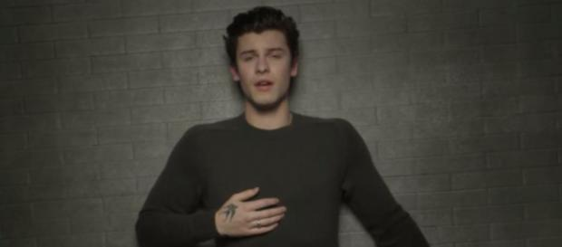 Shaw Mendes no clipe 'In My Blood'