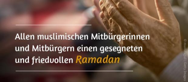"""Steffen Seibert on Twitter: """"Ich wünsche allen Muslimen eine ... - twitter.com"""