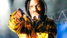 Rapper ASAP Rocky debuts live art performance piece via Youtube