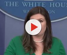 Sarah Huckabee Sanders at White House, via YouTube