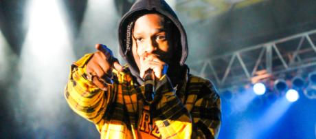 ASAP Rocky performs on stage. - Image via Wiki Commons via Chad Cooper.