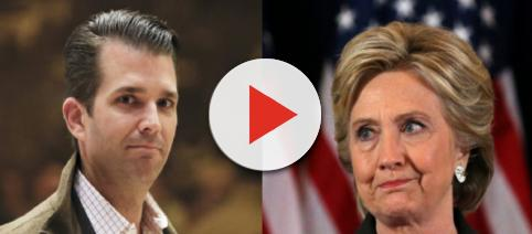 Donald Trump Jr., Hillary Clinton, via Twitter