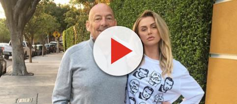 Kent Burningham and Lala Kent pose for a photo. - [Photo via Instagram]