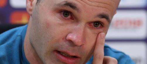 Andres Iniesta a annoncé son départ du Barça