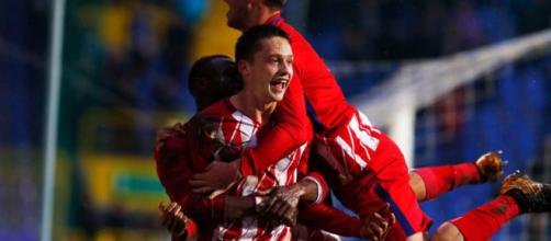 Atlético de Madrid: Borja Garcés anota el gol definitivo