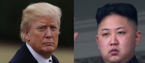 Donald Trump, Kim Jong-un, via Twitter