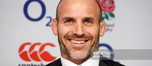 El entrenador de rugby de Inglaterra, Paul Gustard, sonríe mientras ... - com.au