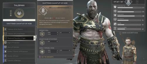 God of War es una serie de videojuegos en 3.ª persona creada por SCE Santa Monica Studio y distribuida por Sony Computer Entertainment.
