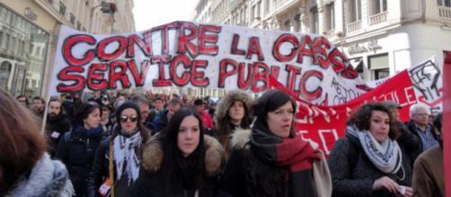 Grève : Les fonctionnaires dans la rue