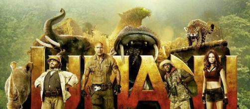 Jumanji: Bienvenido al cartel de la secuela de la jungla revelado