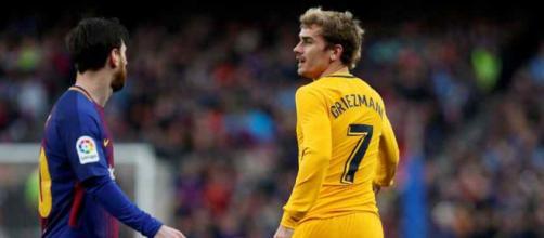 Leo Messi e Griezmann podem não jogar juntos