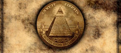 Nuevo Orden Mundial De Illuminati Stock de ilustración ... - dreamstime.com