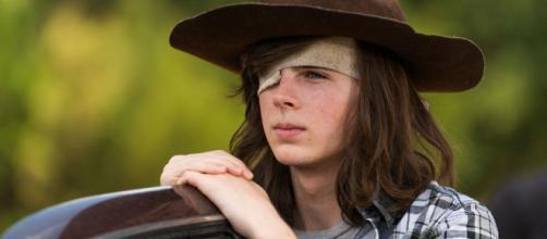 The Walking Dead: Carl Grimes y su cabello largo