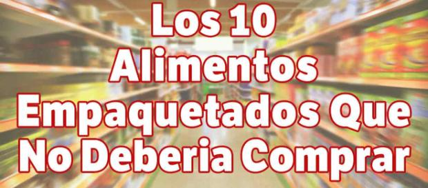 10 Alimentos Empacados que No Debería Comprar - mercola.com