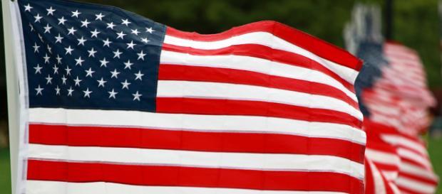 The flag. - [Image Credit: Ian Sane / Flickr]
