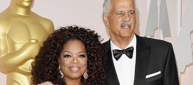 Oprah Winfrey and Stedman Graham went separate ways last Saturday [Image: Nicki Swift/YouTube screenshot]