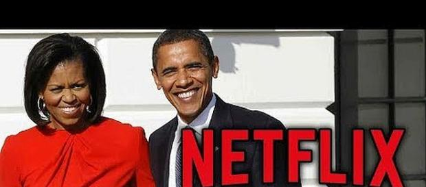 The Obamas are coming to Netflix. - [Image: TMZ Live / YouTube screenshot]