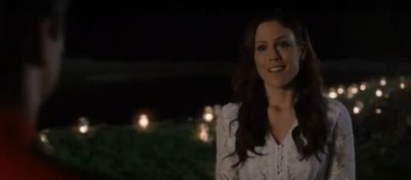 Erin Krakow celebrated love as Elizabeth on 'When Calls the Heart.' - [Akyssandre Cote / YouTube screencap]