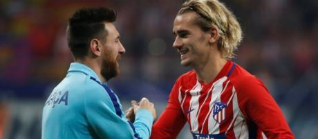 Griezmann - Messi, futur duo de choc du foot mondial? (via football.fr - ©Reuters)