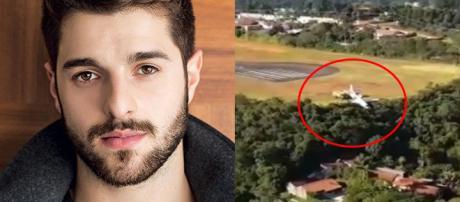 Vídeo do acidente com avião de DJ Alok.