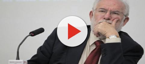 Carlos Berzosa, ex Rector de la Universidad de Madrid. Public Domain.
