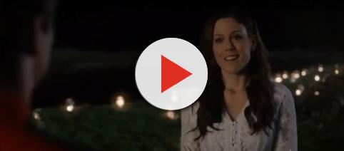 Erin Krakow celebrated love as Elizabeth on 'When Calls the Heart.' - [Akyssandre Cote / YouTube screencap]