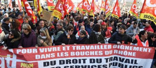 Enfrentamientos en París: protestas contra las reformas de Macron