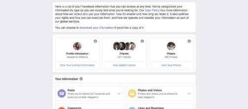 Función de autenticación de dos factores de Facebook