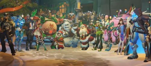 Overwatch: Se filtra una posible skin del evento navideño