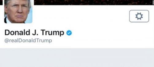 PAGINA TWITTER DI TRUMP- @real Donal j. Trump