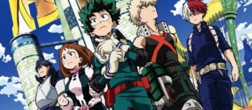 personajes de la serie animada Boku no Hero Academia