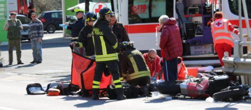 Pesaro, 23enne rimane ferito a causa di un sinistro. (foto di repertorio)
