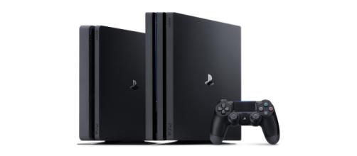 Playstation 4 Slim and Playstation 4. - [Pro Image Provided by Sony]