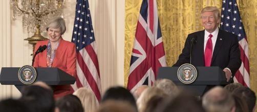 President Donald Trump and PM Theresa May Joint Press Conference. - [Image credit – Shealah Craighead / Wikimedia Commons]