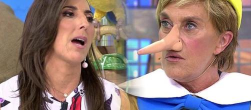 Sálvame: Paz Padilla se burla de Chelo, esta la insulta y las redes arden