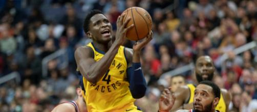Victor Oladipo was named First Team All-Defensive and Third Team All-NBA. Image Source: Flickr | Keith Allison