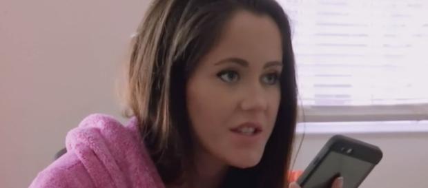 Jenelle Evans appears on 'Teen Mom 2.' [Photo via MTV/YouTube]